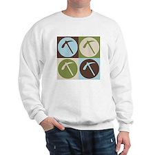 Geology Pop Art Sweatshirt