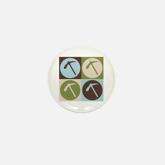 Geology Pop Art Mini Button