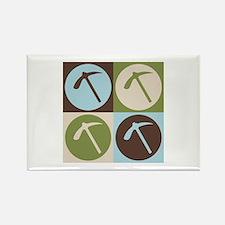Geology Pop Art Rectangle Magnet
