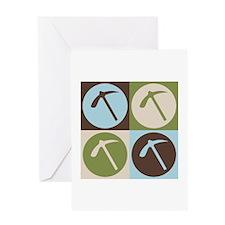 Geology Pop Art Greeting Card