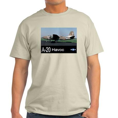 A-20 Havoc Bomber Light T-Shirt