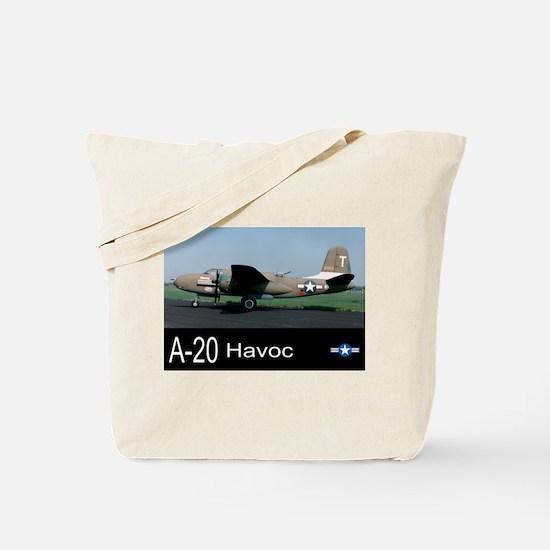 A-20 Havoc Bomber Tote Bag