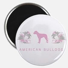 """""""Elegant"""" American Bulldog Magnet"""