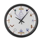 Working Tools and More Large Wall Clock