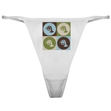 French Horn Pop Art Classic Thong