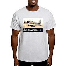 A-1 Skyraider Attack Bomber T-Shirt