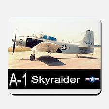 A-1 Skyraider Attack Bomber Mousepad