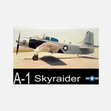 A-1 Skyraider Attack Bomber Rectangle Magnet