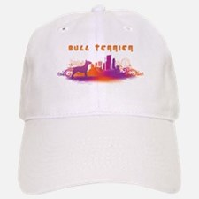 """City"" Bull Terrier Baseball Baseball Cap"