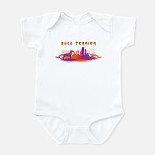 """""""City"""" Bull Terrier Infant Bodysuit"""