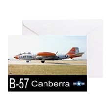 B-57 Canberra Bomber Greeting Card