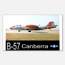 B-57 Canberra Bomber Rectangle Decal