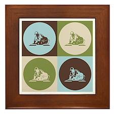 Flooring Pop Art Framed Tile
