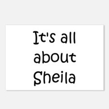 Cute Sheila Postcards (Package of 8)