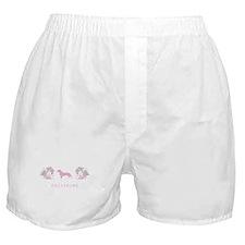 """""""Elegant"""" Dachshund Boxer Shorts"""