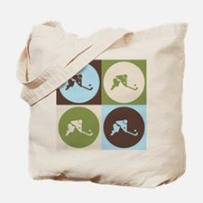 Field Hockey Pop Art Tote Bag