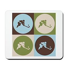 Field Hockey Pop Art Mousepad