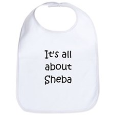 Funny Shebas Bib
