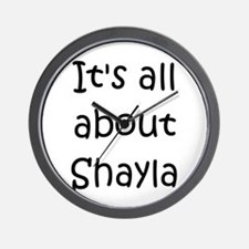 Cute Shayla Wall Clock