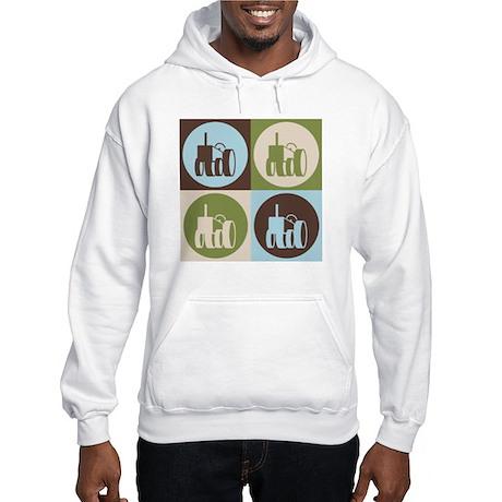 Farming Pop Art Hooded Sweatshirt