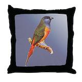 Audubon pillow Throw Pillows