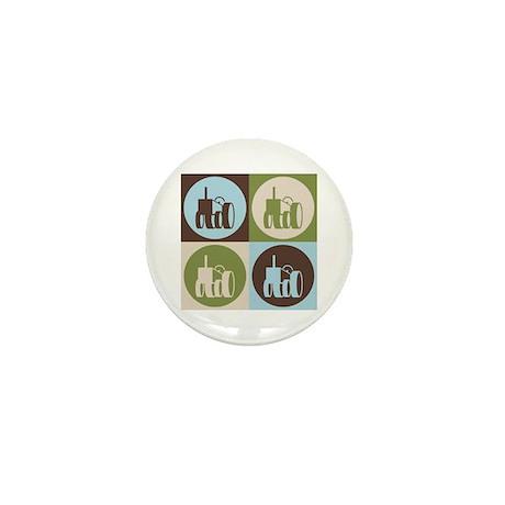 Farming Pop Art Mini Button (10 pack)