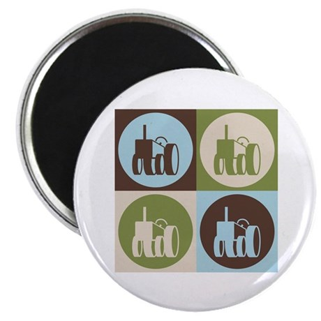 "Farming Pop Art 2.25"" Magnet (10 pack)"