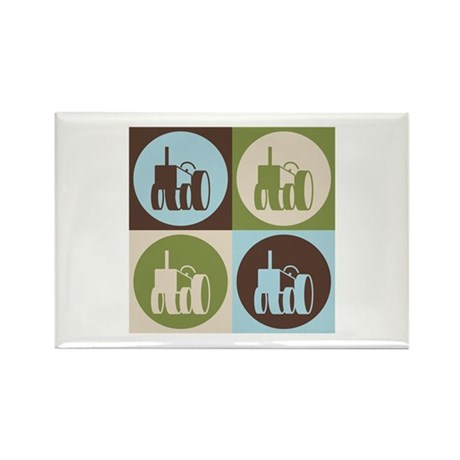 Farming Pop Art Rectangle Magnet (100 pack)