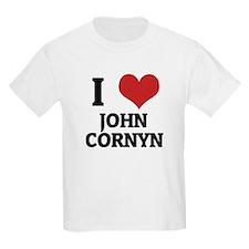I Love John Cornyn Kids T-Shirt