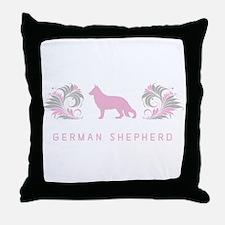"""""""Elegant"""" German Shepherd Throw Pillow"""