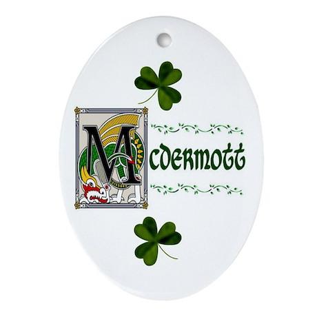 McDermott Celtic Dragon Keepsake Ornament