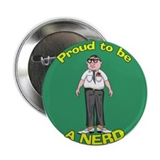 Proud To Be A Nerd Button