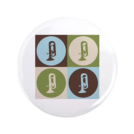 """Euphonium Pop Art 3.5"""" Button"""