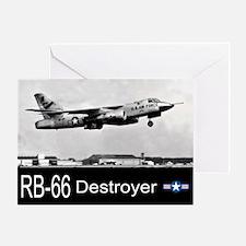 RB-66 Destroyer Reconnaissance Aircraft Greeting C