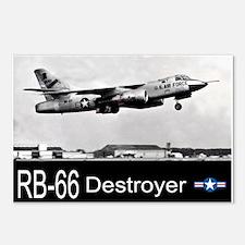 RB-66 Destroyer Reconnaissance Aircraft Postcards