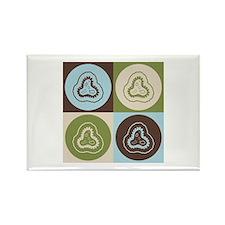 Epidemiology Pop Art Rectangle Magnet