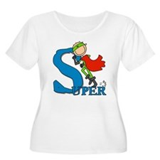 Super Stick Figure Hero T-Shirt