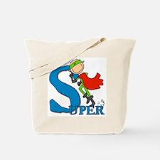 Super Stick Figure Hero Tote Bag