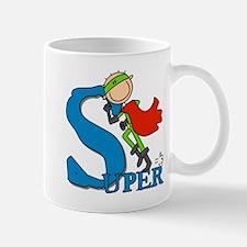 Super Stick Figure Hero Mug