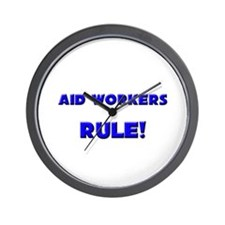 Aid Workers Rule! Wall Clock