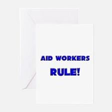 Aid Workers Rule! Greeting Cards (Pk of 10)