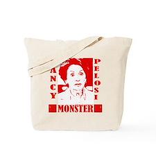 Nancy Pelosi - Monster! Tote Bag