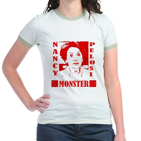 Nancy Pelosi - Monster! Jr. Ringer T-Shirt