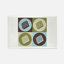 Electrical Engineering Pop Art Rectangle Magnet