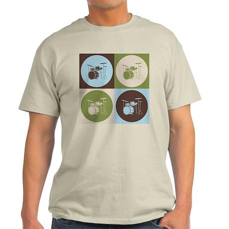 Drums Pop Art Light T-Shirt