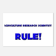 Agriculture Research Scientists Rule! Postcards (P
