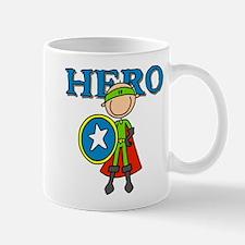 Hero Boy with Shield Mug