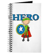 Hero Boy with Shield Journal