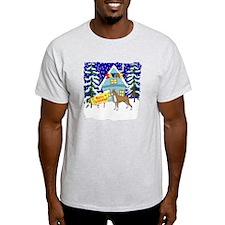 Santas Place Boxer T-Shirt