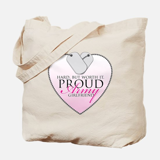 Lucky & Proud Girlfriend Tote Bag